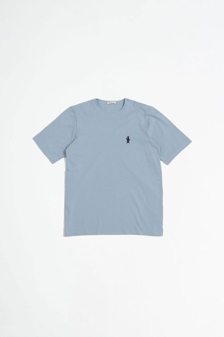Marni Short Sleeved Cotton Jersey T-shirt - Blue