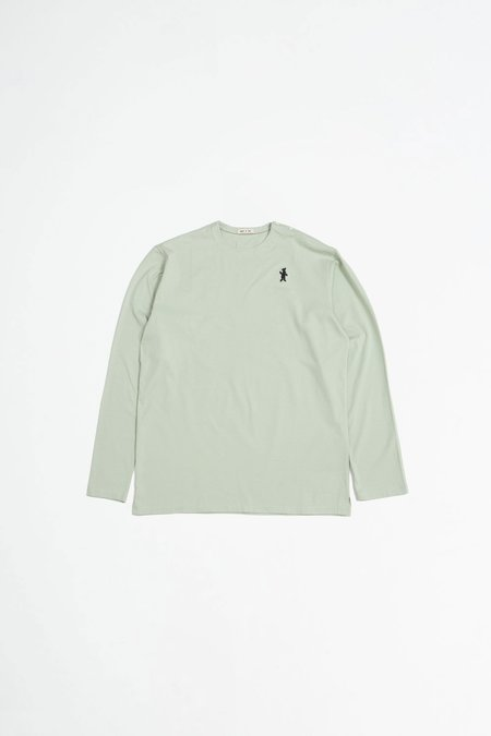 Marni Short Sleeved Cotton Jersey T-shirt - Olive