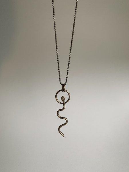 Rivet & Rise Viper Pendant Necklace