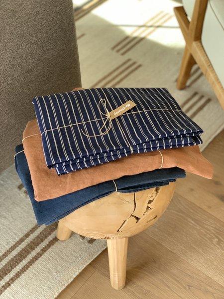 Domecíl Blue Linen Tablecloth