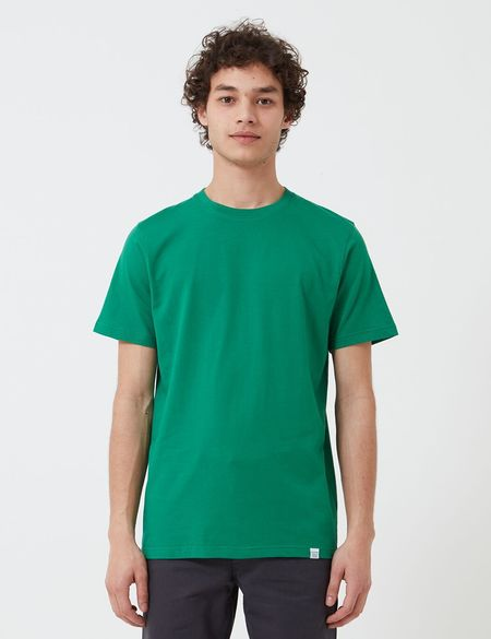 Norse Projects Niels Standard T-Shirt (Organic Cotton) - Sporting Green