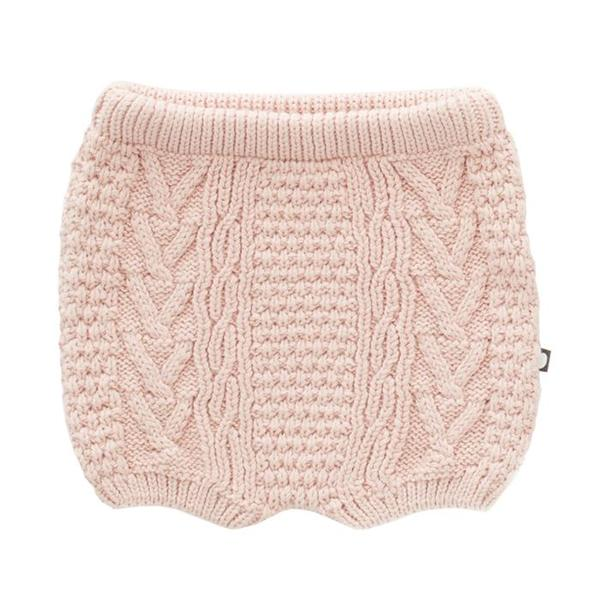 Oeuf NYC Oeuf Baby And Child Cable Knit Shorts - Light Pink