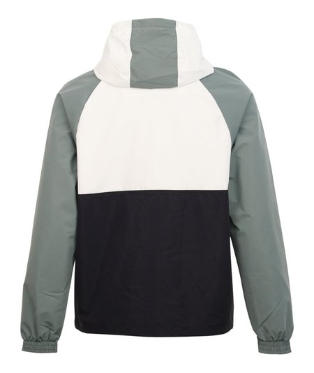 Nicce Aston Zip Through Hooded Jacket White