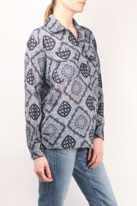 6397 Bandana Shirt - paisley print