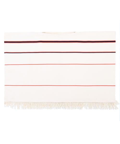 Stick & Ball Ombre Stripe Poncho