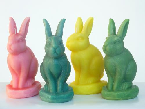 7 on Locust Rabbit Candle