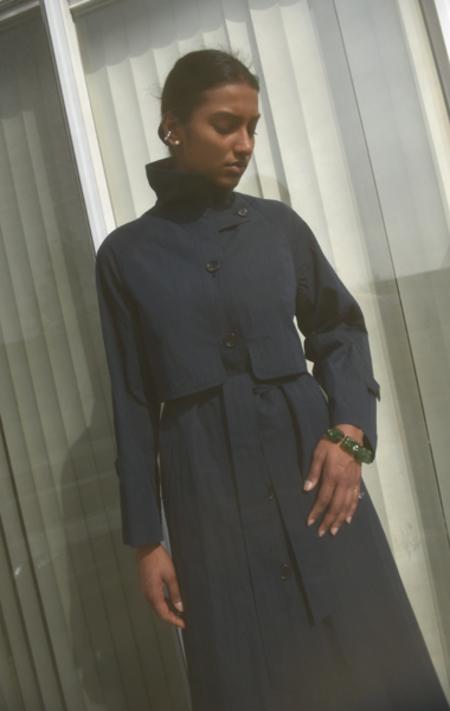 Jeana Sohn Anais Trench - Navy