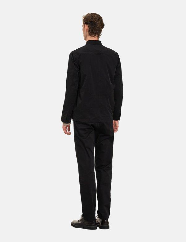 Norse Projects Jens Zip Packable Jacket - Black