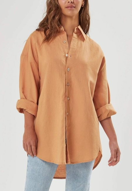 Charlie Holiday Zani Oversized Button Down Shirt
