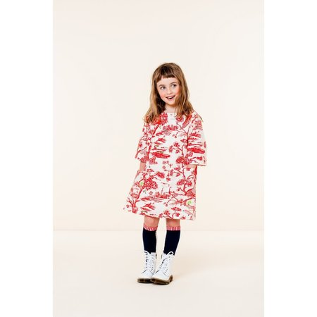 kids oilily douwe dress - red