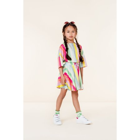 Kids oilily tauto jersey skirt - green
