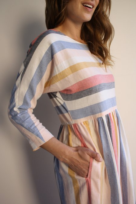 Myrtle Rae Dress - Summer Stripe
