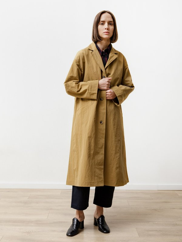 Priory Bell Jacket - Anorak Gold