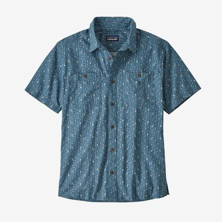 Patagonia Men's Back Step Shirt - Pigeon Blue