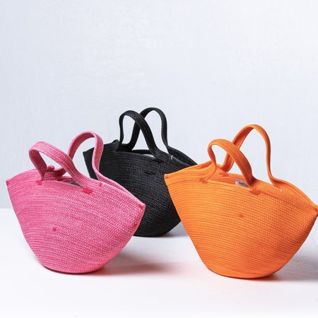 Amelia Samari Le Mini Bag - Tangerine