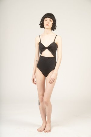 Mara Hoffman Maddy one piece swimsuit - black