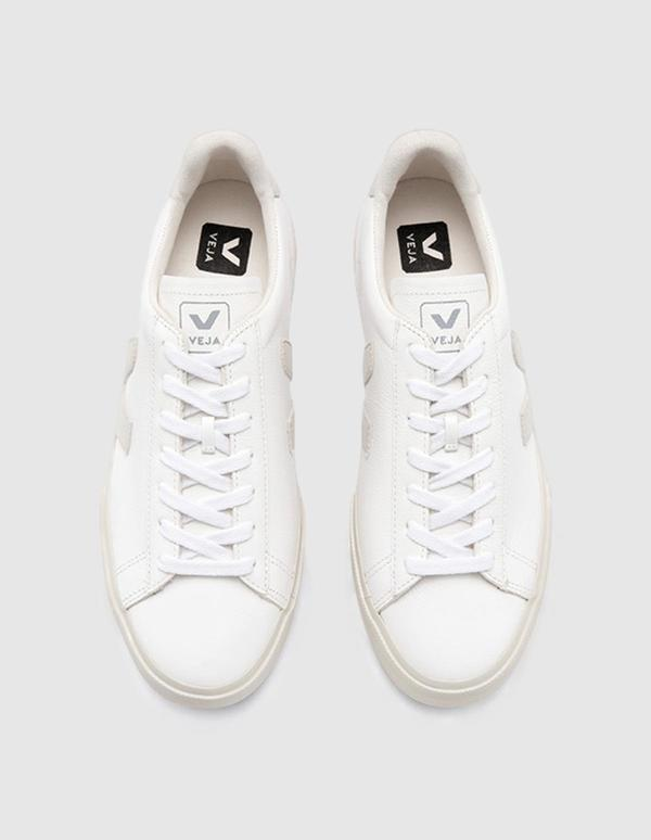 VEJA Campo C.W.L. Sneaker - White/Pierre Natural