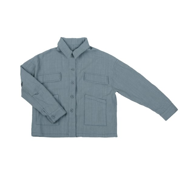 Kids Tambere Camille Jacket - Blue Grey