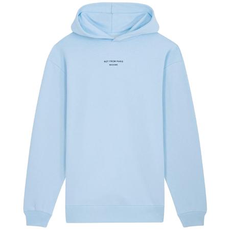 Drôle De Monsieur classic nfpm hoodie Light Blue
