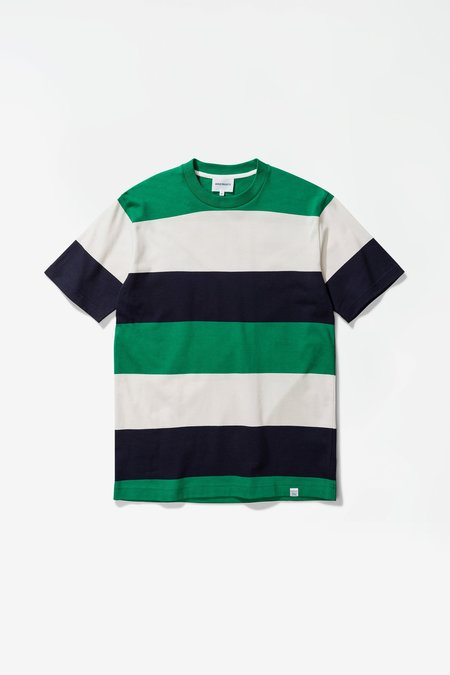 Norse Projects Johannes Tee - sporting green