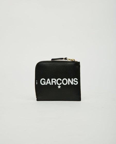 Comme des Garçons Huge Logo 2 Zip Wallet