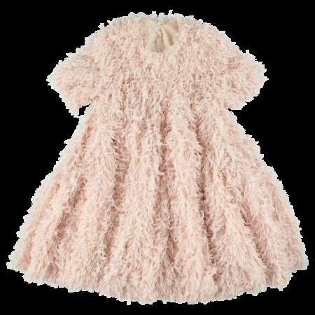 caroline bosmans wide frill dress pink