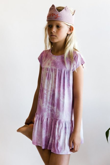kids Little Moon Society Katherine Dress - Blooming Lilac