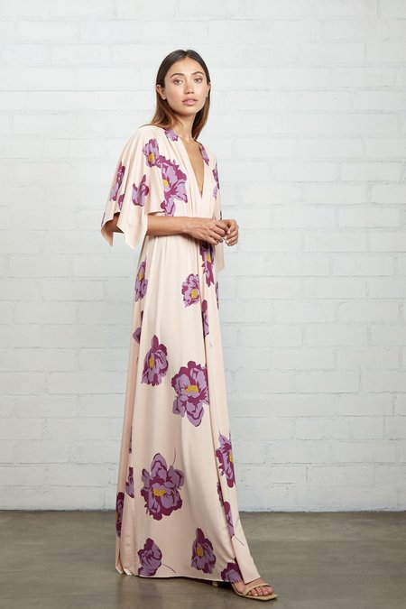 Rachel Pally Long Caftan Dress - Peony