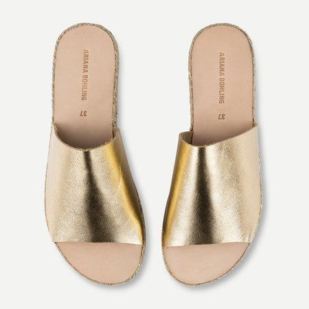 Ariana Bohling Daisy Sandal - Gold
