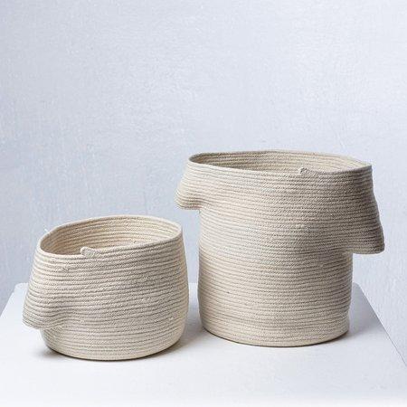 Amelia Samari Billow Basket - Natural Small