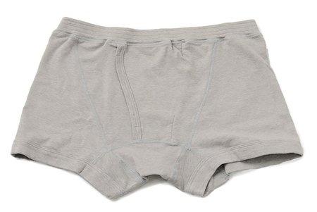 Blurhms Silk Cotton Rib Boxer Briefs