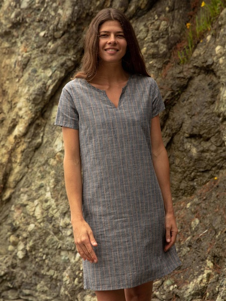 Mollusk Striped Beach Dress
