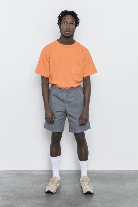 Paa Waxed Cotton Shorts - Grey