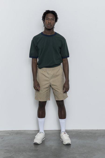 Paa Waxed Cotton Shorts - Khaki