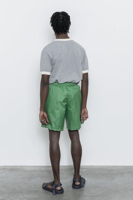 Paa Windbreaker Shorts - Kelly Taffeta