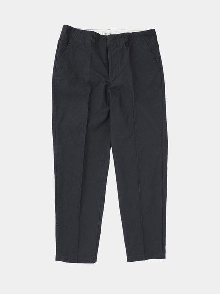 Still By Hand Seam Pocket Pants - Navy