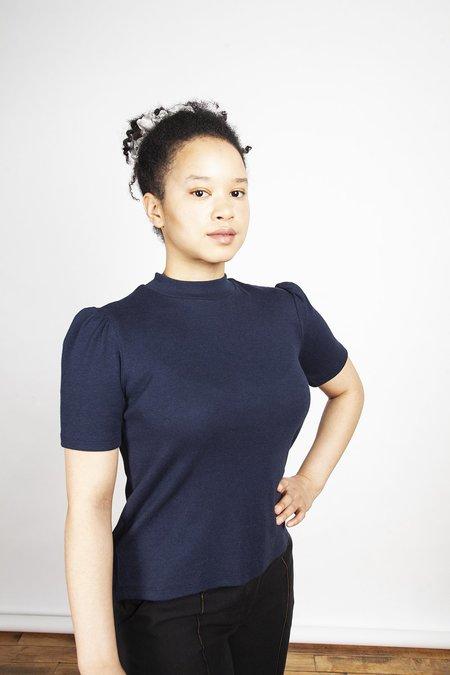 Jennifer Glasgow Clothing Toshiko T shirt - Navy