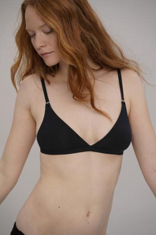 moi-basics bra - black