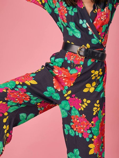 Bailey & Buetow Cherie Jumpsuit - Black Multi