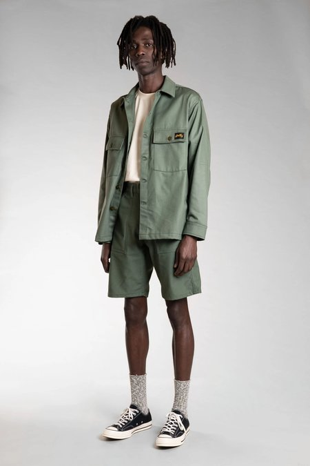 Stan Ray Fatigue short = olive sateen