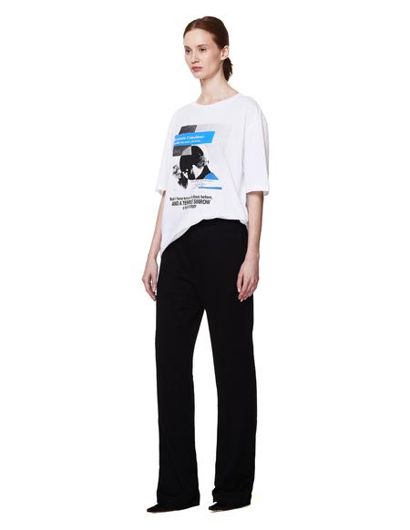 Haider Ackermann Cotton Terrible Sorrow T Shirt - White