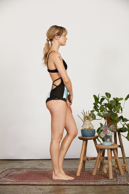 Clare Bare Eternal Daze Bodysuit in Silk