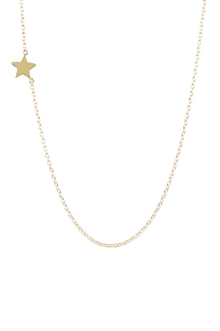Tiffany Kunz Single Star Necklace - Gold