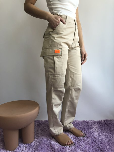 OBEY COMBAT CARGO PANT - BEIGE
