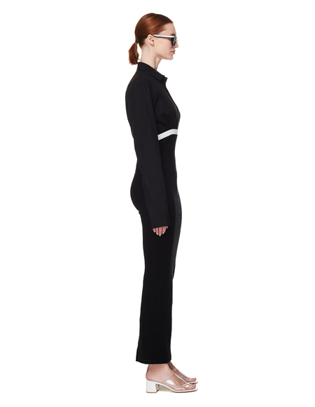 Haider Ackermann Black Cotton Dress