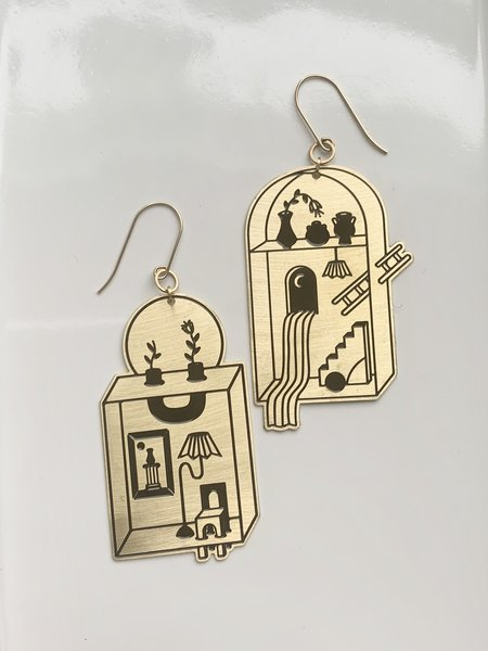 While Odin Sleeps Passages Earrings