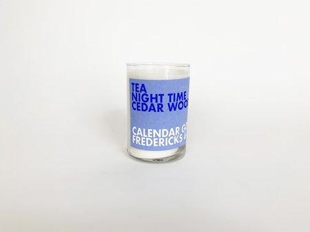 Fredericks & Mae Tea Night Time & Cedar Wood Candle