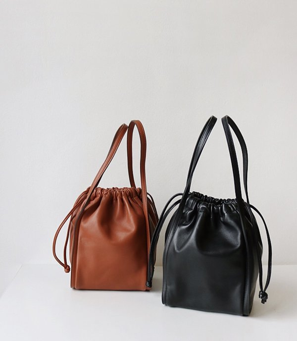 Are you Drawstring Leather Bag