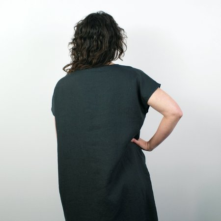 Filosofia Brooke Dress - Ink Linen