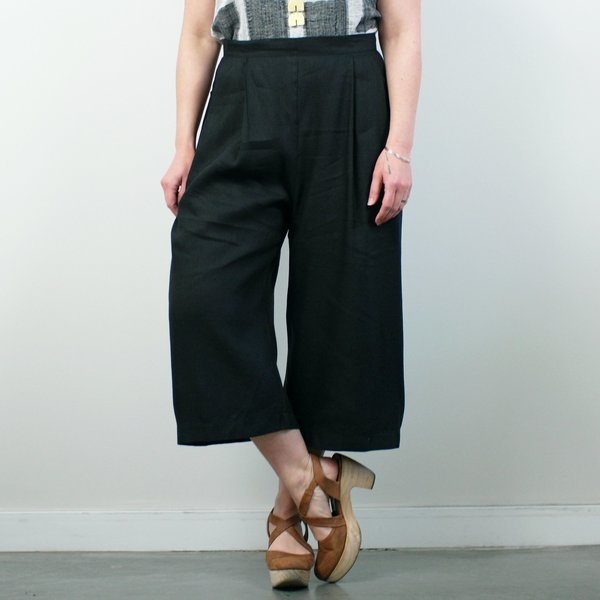 Allison Wonderland Seine Pant - Black